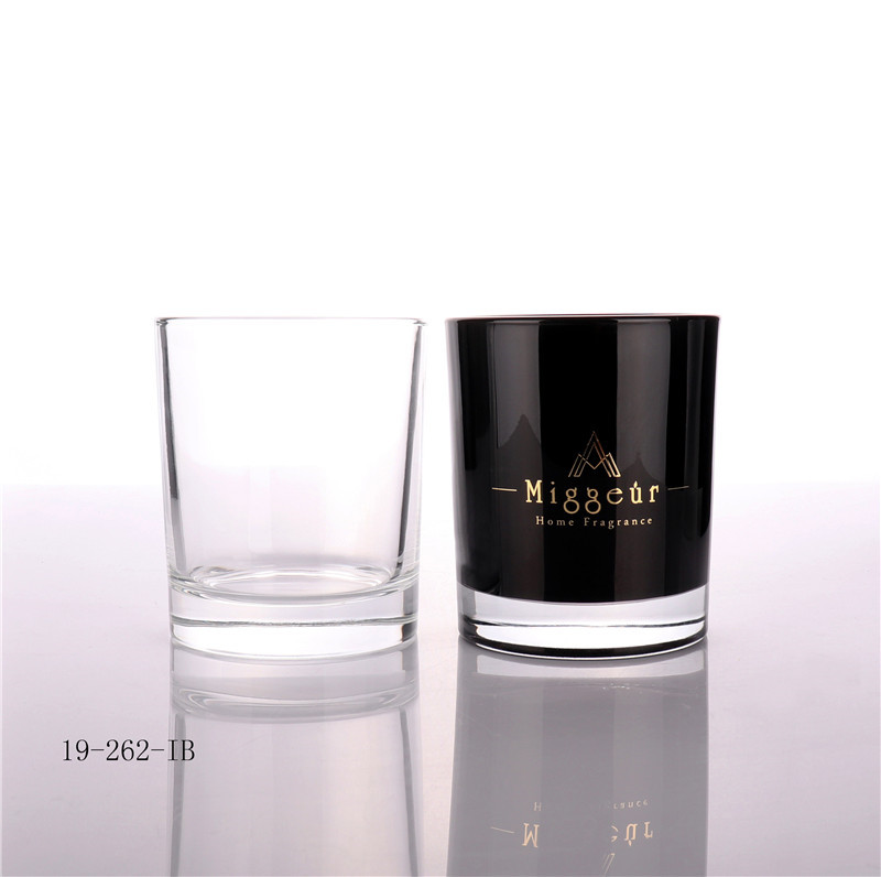 Luxury Black Candle Jar Manufacture