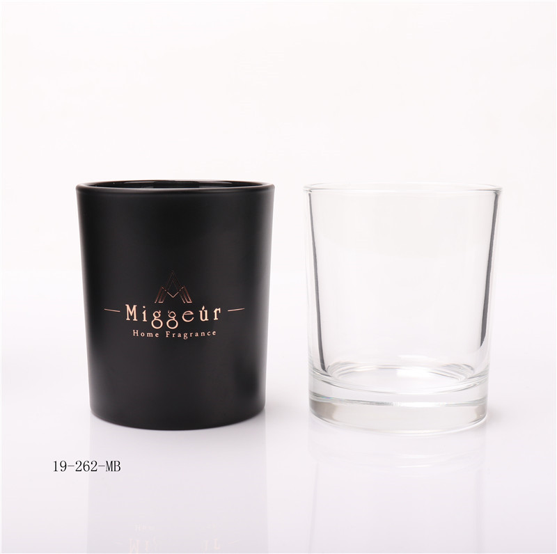 Frosted Candle Glass Jar Wholesale