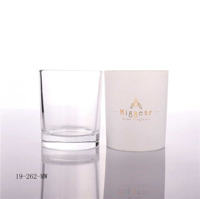 Frosted Candle Glass Jar Manufacturer