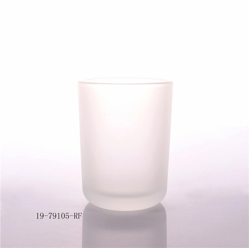 Luxury OEM Black Glass Candle Jar With Lid