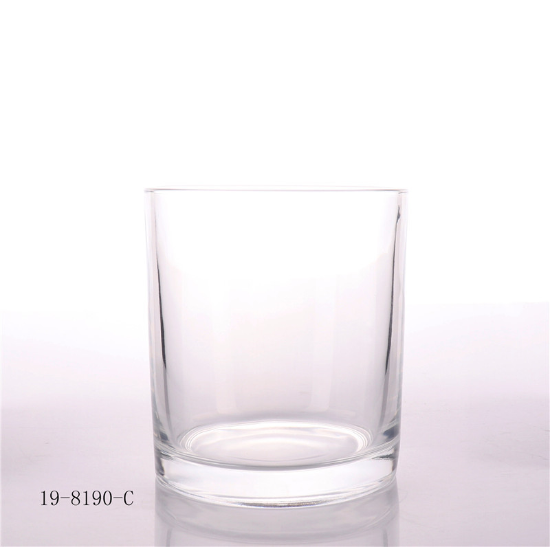 Luxury Clear Empty Candle Glass Jar Manufacture