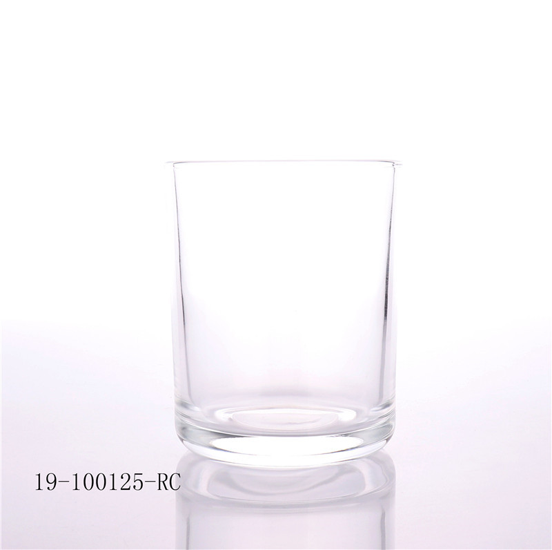 Luxury Clear Glass Candle Jar For Candle Making