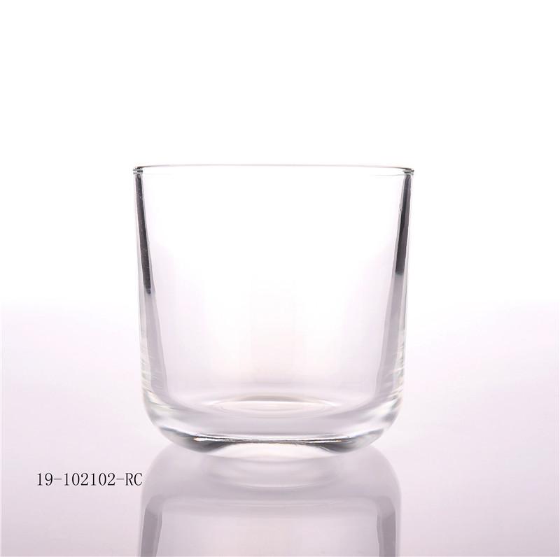 BOYE Luxury 11oz Empty Glass Jar For Candle Making