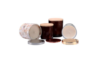 Wooden Lid Scented Candles