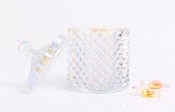BOYE Soy Wax Candle Glass Jars With Lid