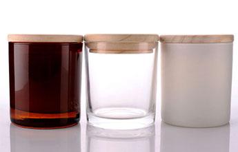 Amber Candle Jars
