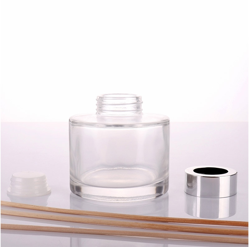 Clear Round Empty Glass Diffuser Bottle Wholesale