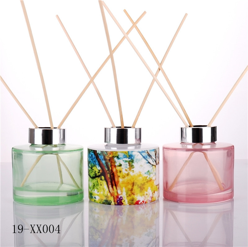 Luxury Forest Decal Empty Reed Diffuser Bottle Wholesale