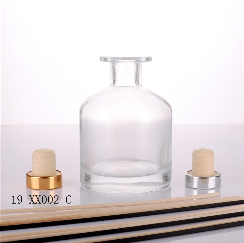 Empty Clear Diffuser Bottle
