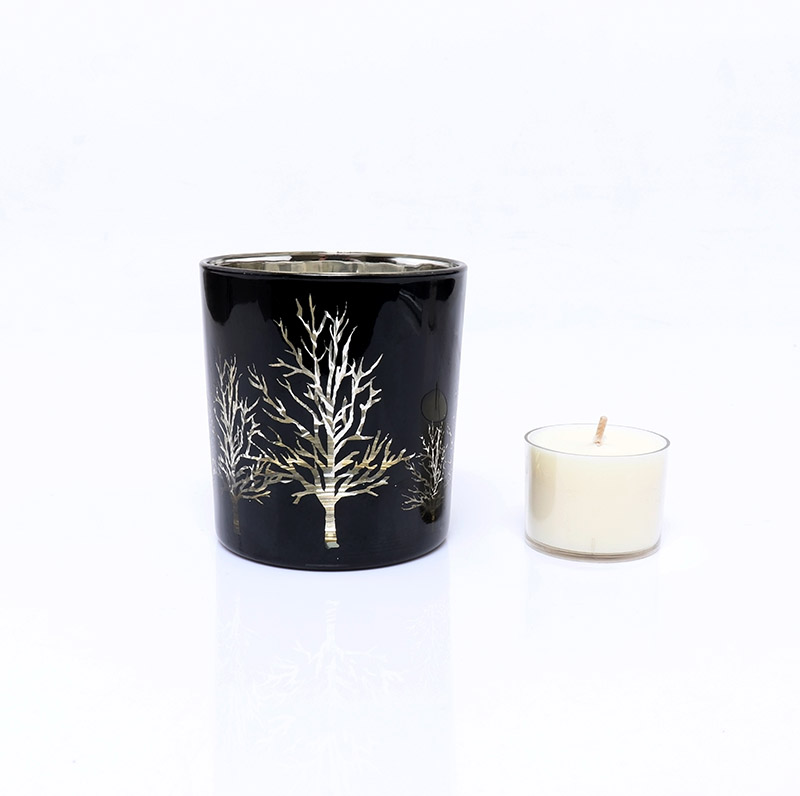 BOYE Luxury Christmas Tree Votive Glass Holders For Candle Making