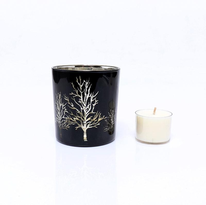 BOYE Luxury Christmas Tree Votive Glass Holders For Candle Making