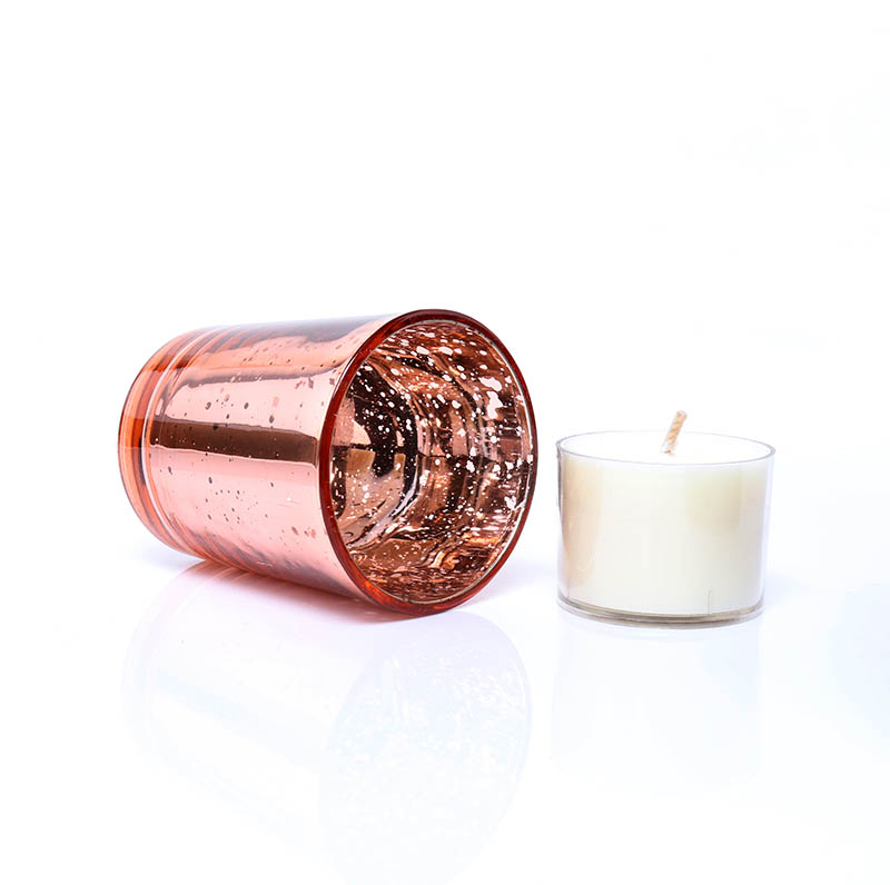Hot Sale Votive Candle Holders Bulk Rose Gold Tea Light Bar Candle Holder