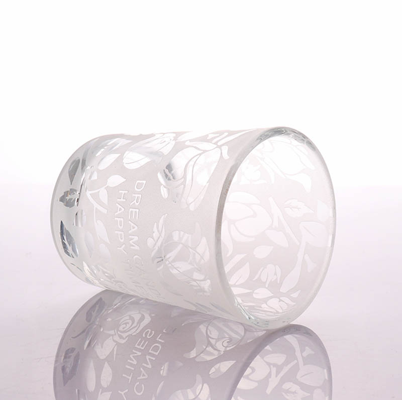 Luxury Empty Candle Glass Jars In Bulk For Scented Candle Making