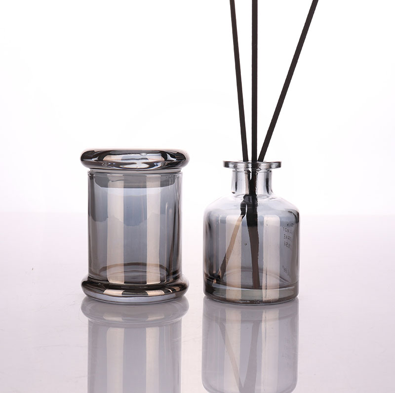 Luxury Small Empty Glass Jars In Bulk Wholesale For Candle Making