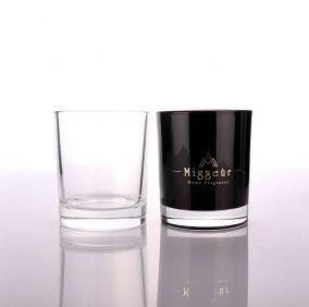 Luxury Black Candle Jar Manufacture