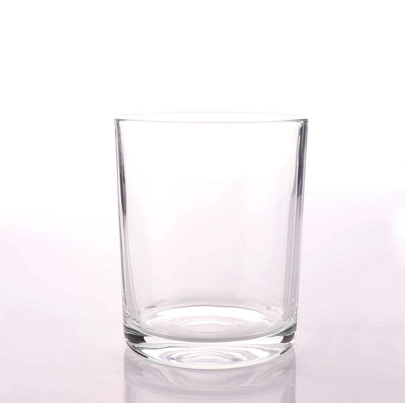 Clear Empty Candle Glass Jar Wholesale