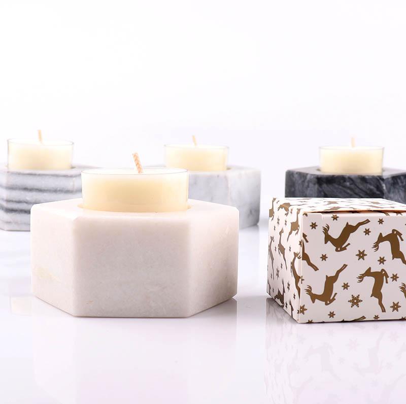 Marble Tea Light Candle Holder Supplier