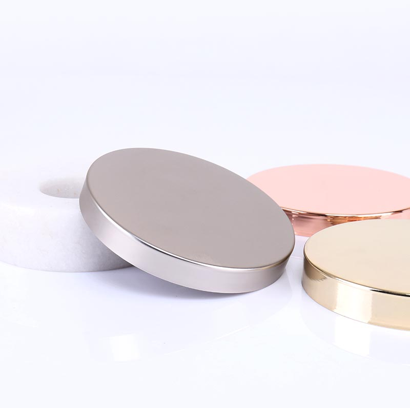 Rose Gold Metal Candle Lids Wholesale